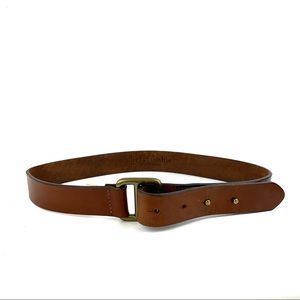 ABERCROMBIE Surplus Brown Leather Belt Size M